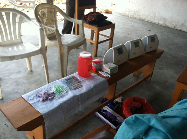 Bringing HIV Labs by Backpack to Rural Africa