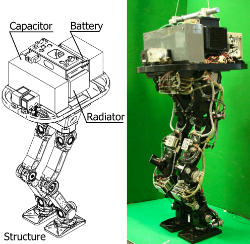 Urata's Legs, a bipedal robot, helped SCHAFT develop its humanoid robot technology
