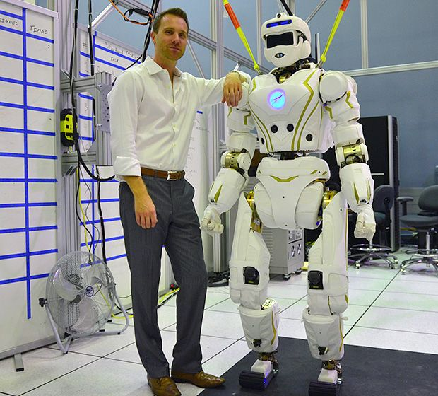 робот Valkyrie R-5 для работы на Международной космической станции