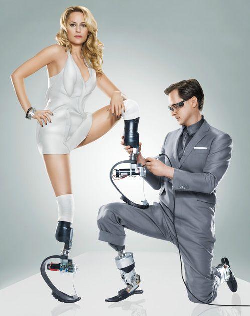 Aimee Mullins Hugh Herr
