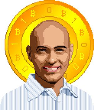 Bitcoin Sporny illustration