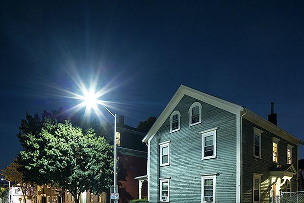 LED Streetlights Are Giving Neighborhoods the Blues