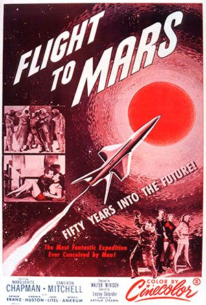 img of Flight to Mars Movie poster