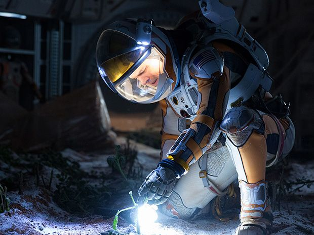 still image from The Martian