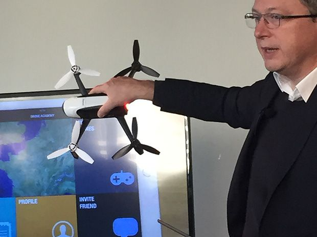 parrot drone CEO