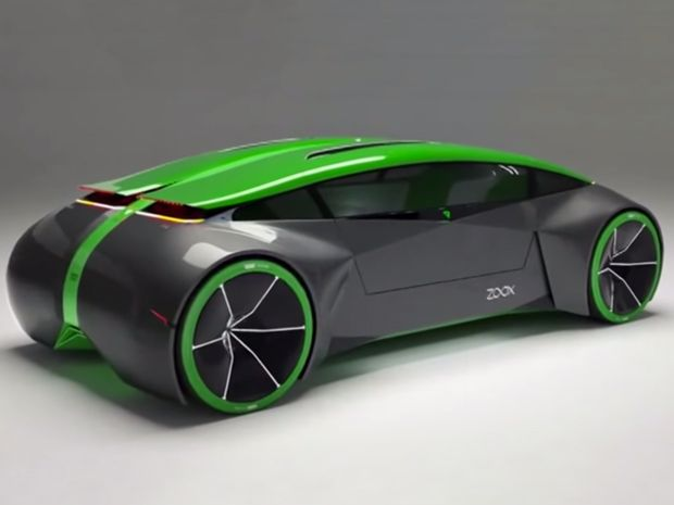 Zoox self-driving car concept