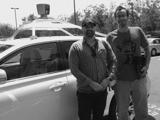 Zoox cofounder Tim Kentley-Klay and Google self-driving car engineer Anthony Levandowski