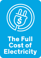 graphic link to the landing page for The Full Cost of Electricity