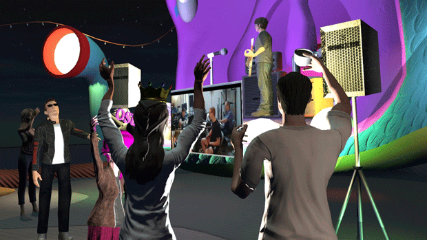 Images High Fidelity House Party With High Fidelity Users Build Their Own Homes And Invite Friends To Join Them In World Or Through Streaming Video