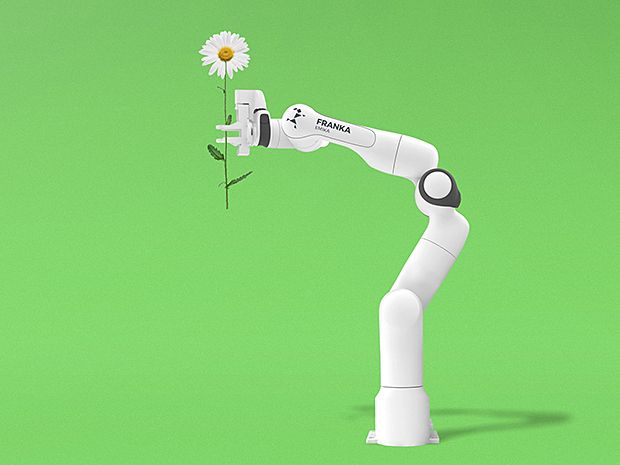 Franka: A Robot Arm That's Safe, Low Cost, and Can Replicate Itself
