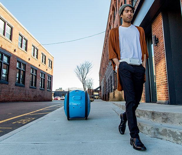 Piaggio's Gita Cargo Robot and User Wearable SLAM Belt