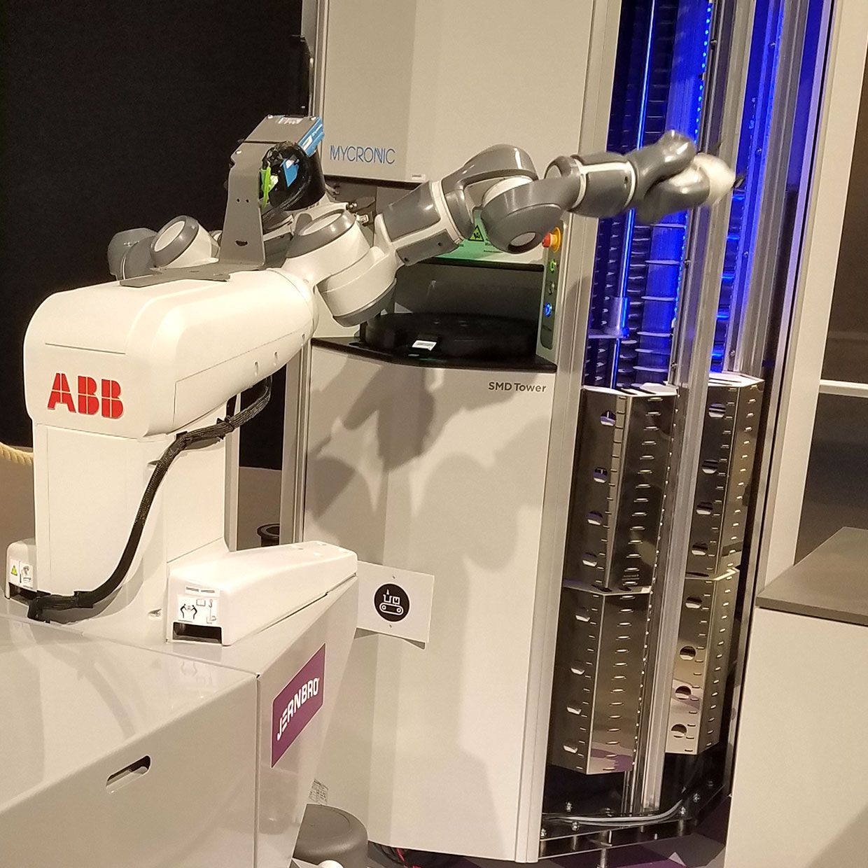 one ABB robot at Mobile World Congress Barcelona