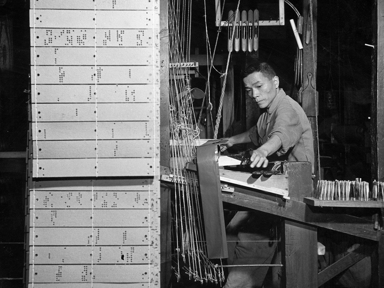 The Jacquard Loom A Driver Of The Industrial Revolution Ieee Spectrum
