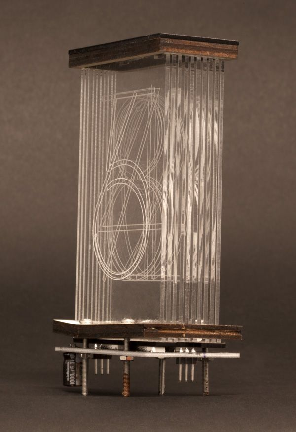 Build a Clock With Lixies, the Nixie-⁠Tube Lookalike - IEEE Spectrum