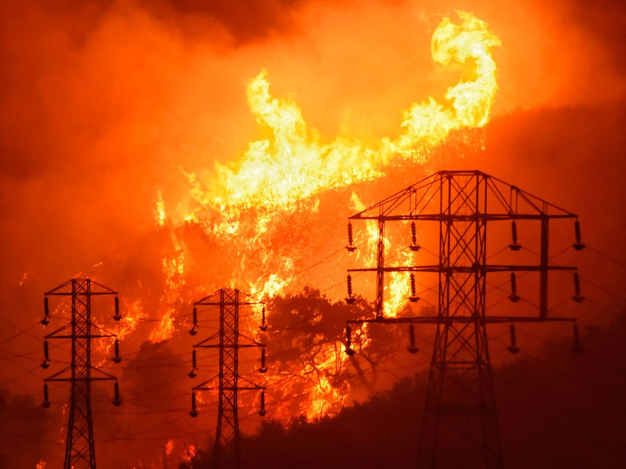 When Power Lines Break A New Control System Keeps The Sparks
