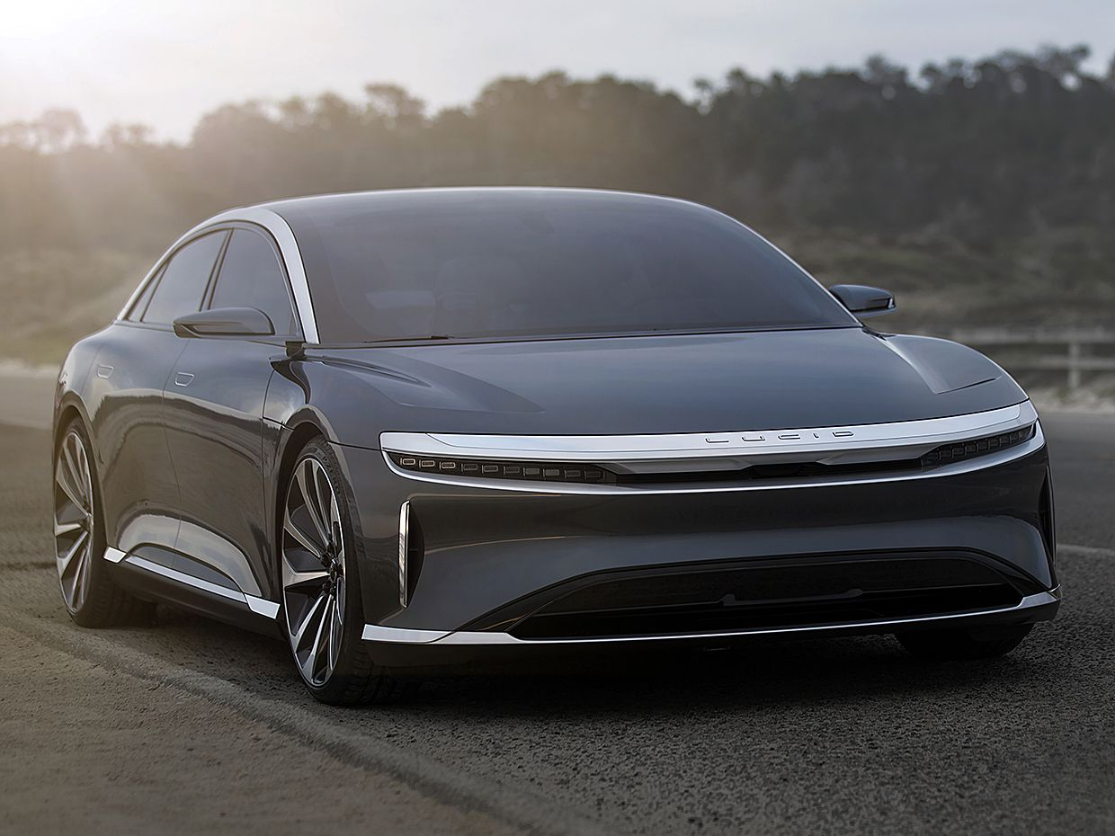 Photo Lucid Motors An Insane 1 000 Horse Is Packed Inside A Car That S One Part Eship California Spa