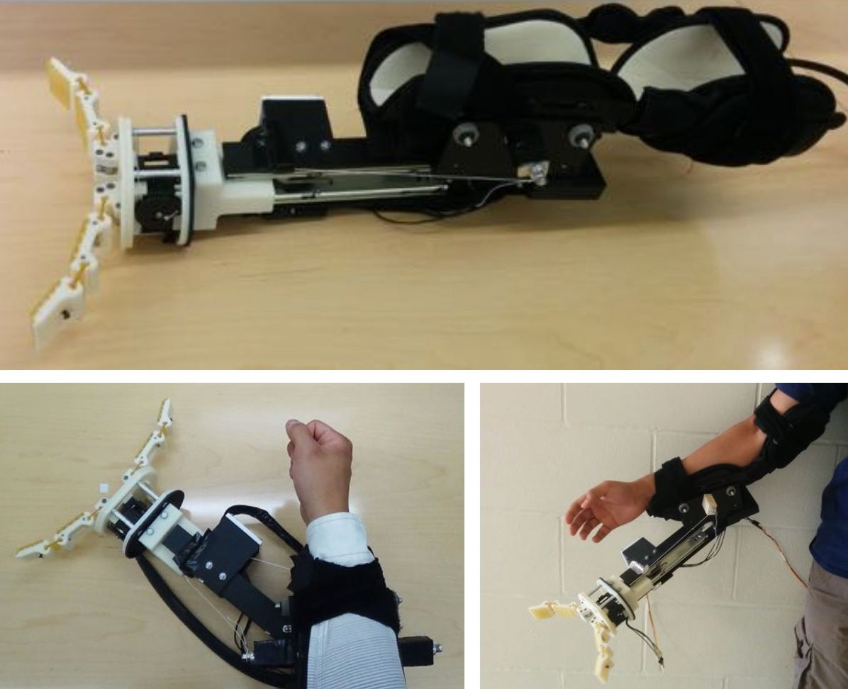 Wearable Robotic Forearm