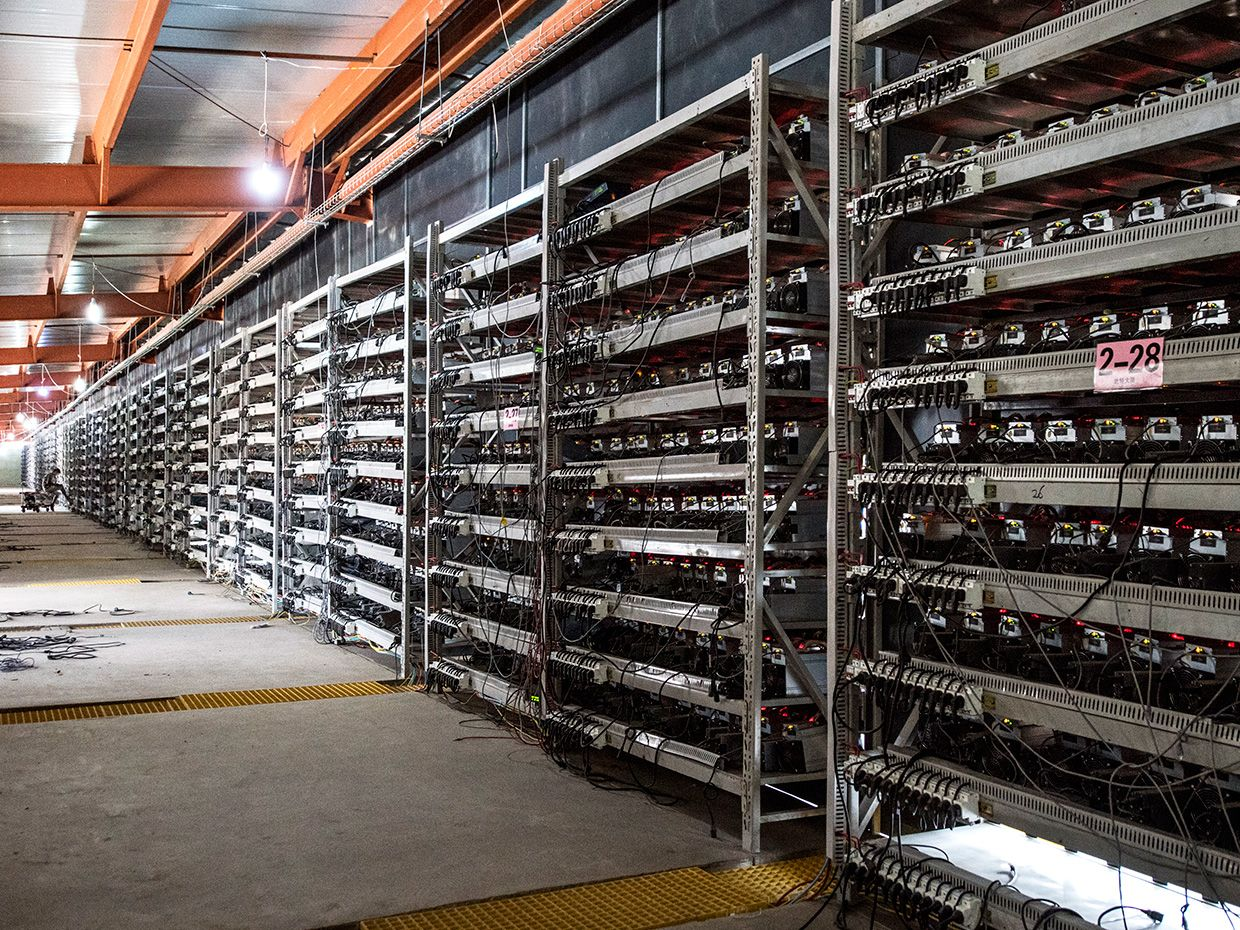 bitcoin mining machine setup