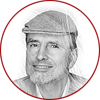 illustration of Jurgen Schmidhuber