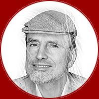 illustration of Jurgen Schmidhuber