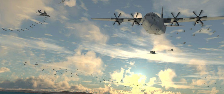 Dynetics Gremlin drones