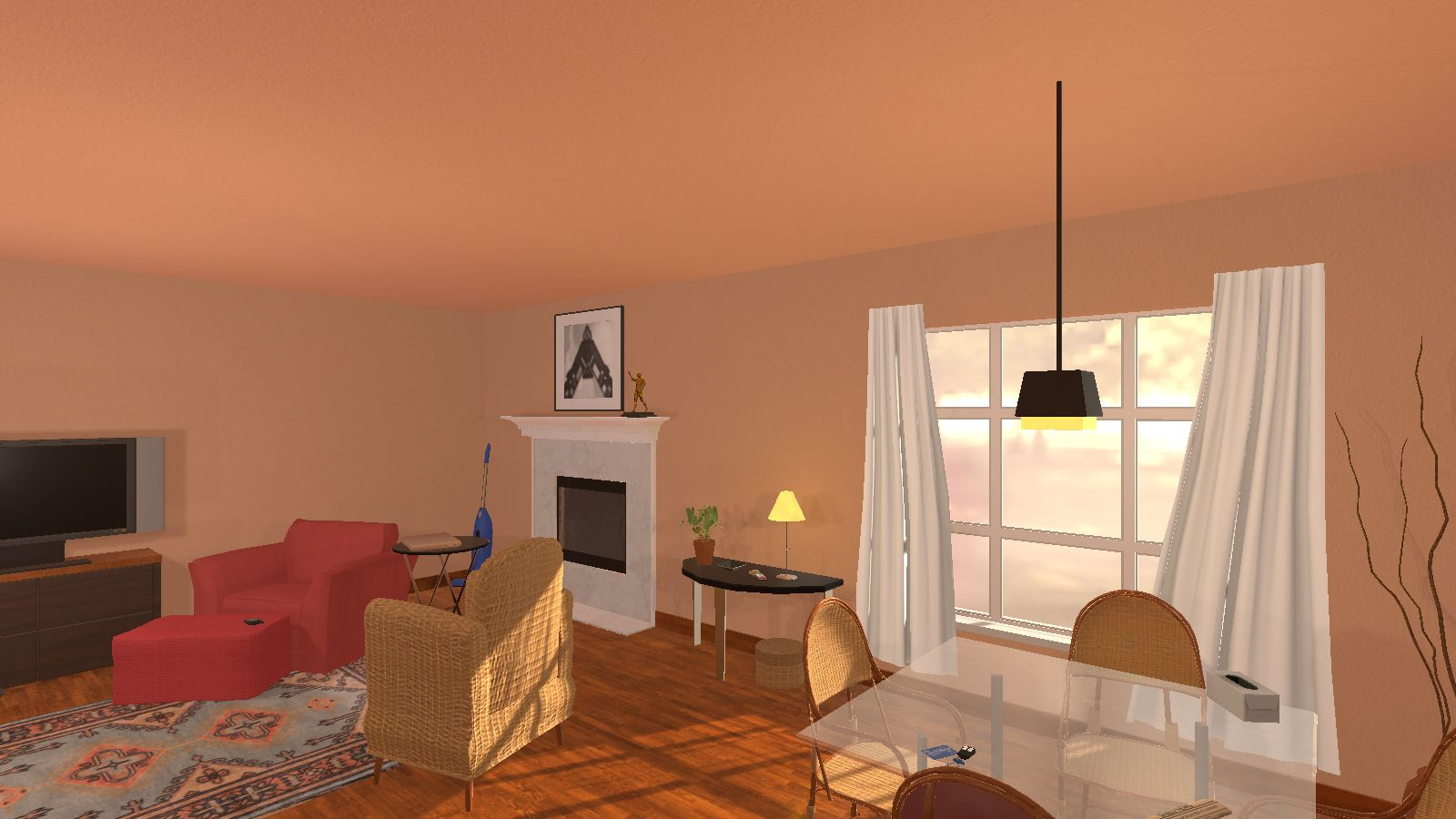 Ai2 thor interactive simulation teaches ai about real for Living room realty