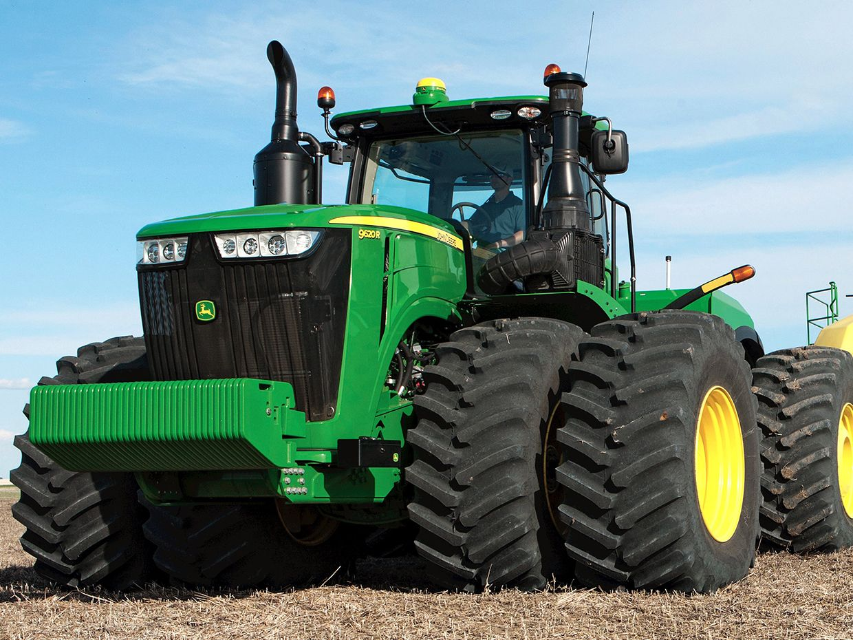 John deere and the birth of precision agriculture ieee spectrum john deere tractor fandeluxe Choice Image
