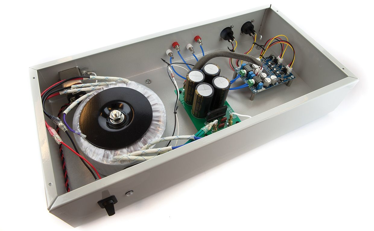 build your own professional-grade audio amp on the sort of cheap