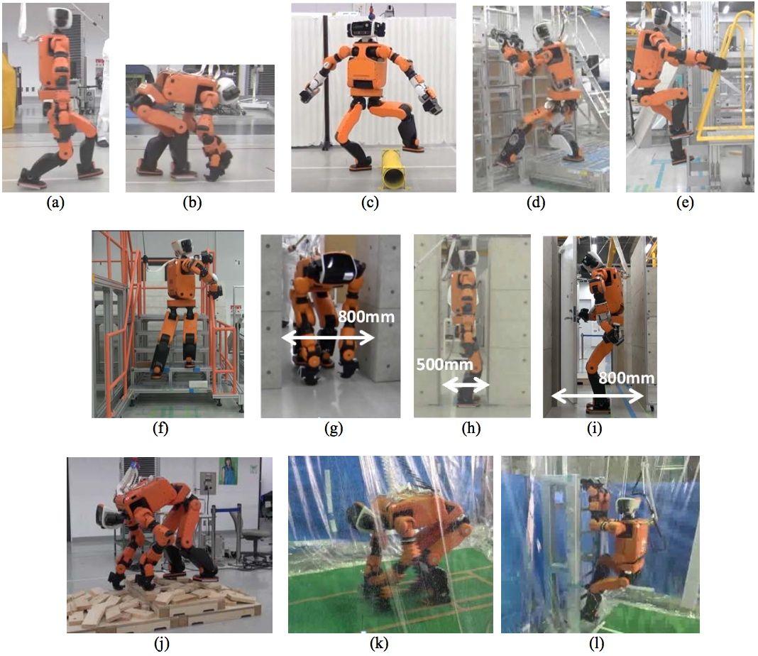 Honda E2-DR disaster response robot