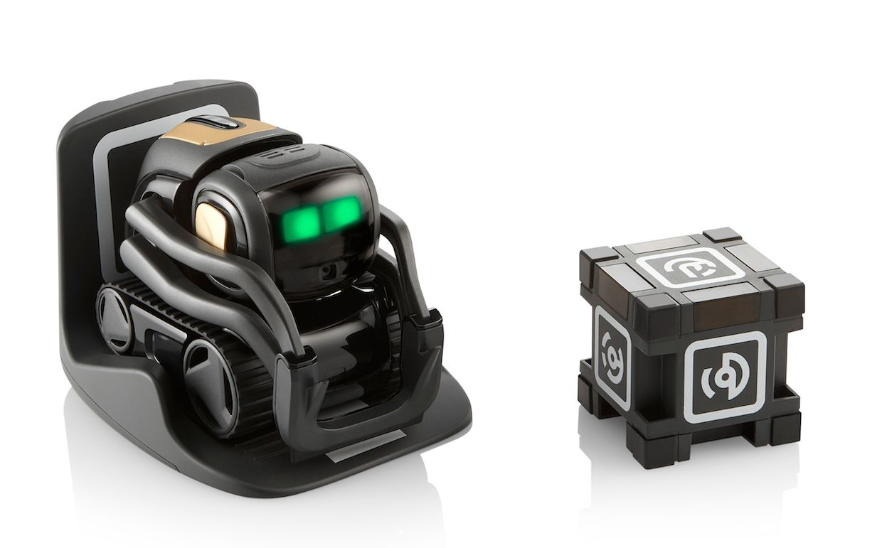 Anki vector with charger and cube