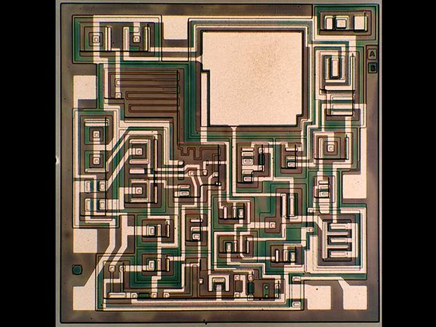 chip hall of fame fairchild semiconductor μa741 op amp ieee spectrumfairchild semiconductor die