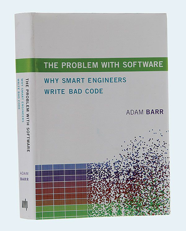 "photo of ""The Problem With Software"" by Adam Barr"