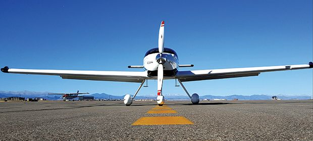 photo of electric plane