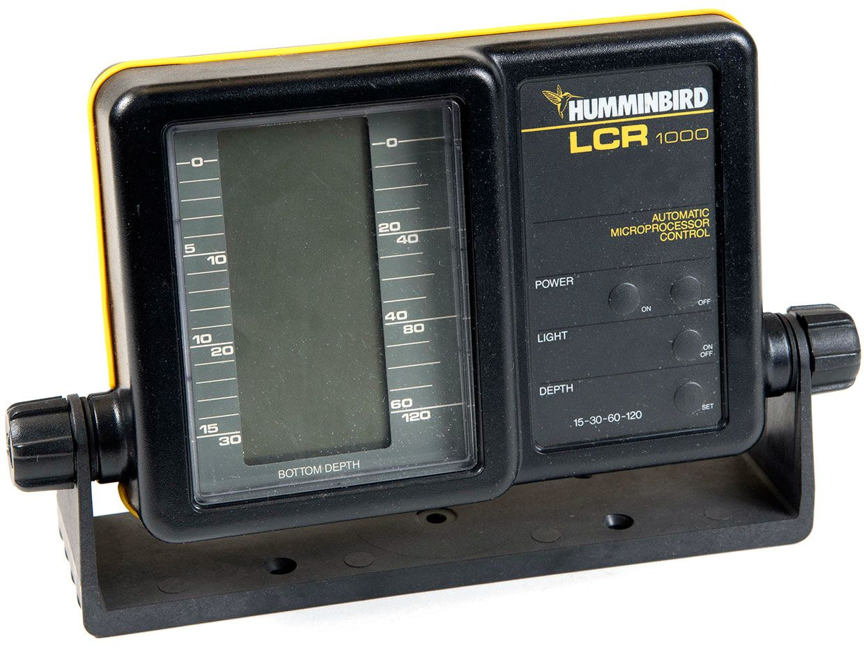 photo of the Humminbird LCR 1000 fish finder