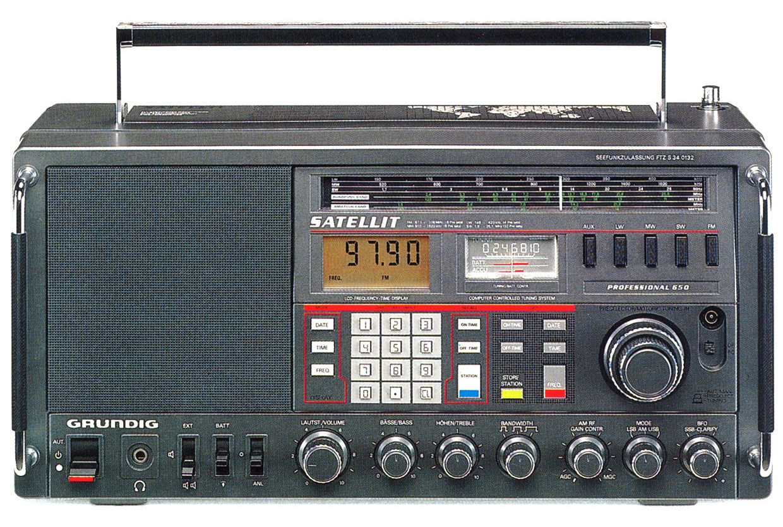 The Consumer Electronics Hall Of Fame Grundig Satellit 650