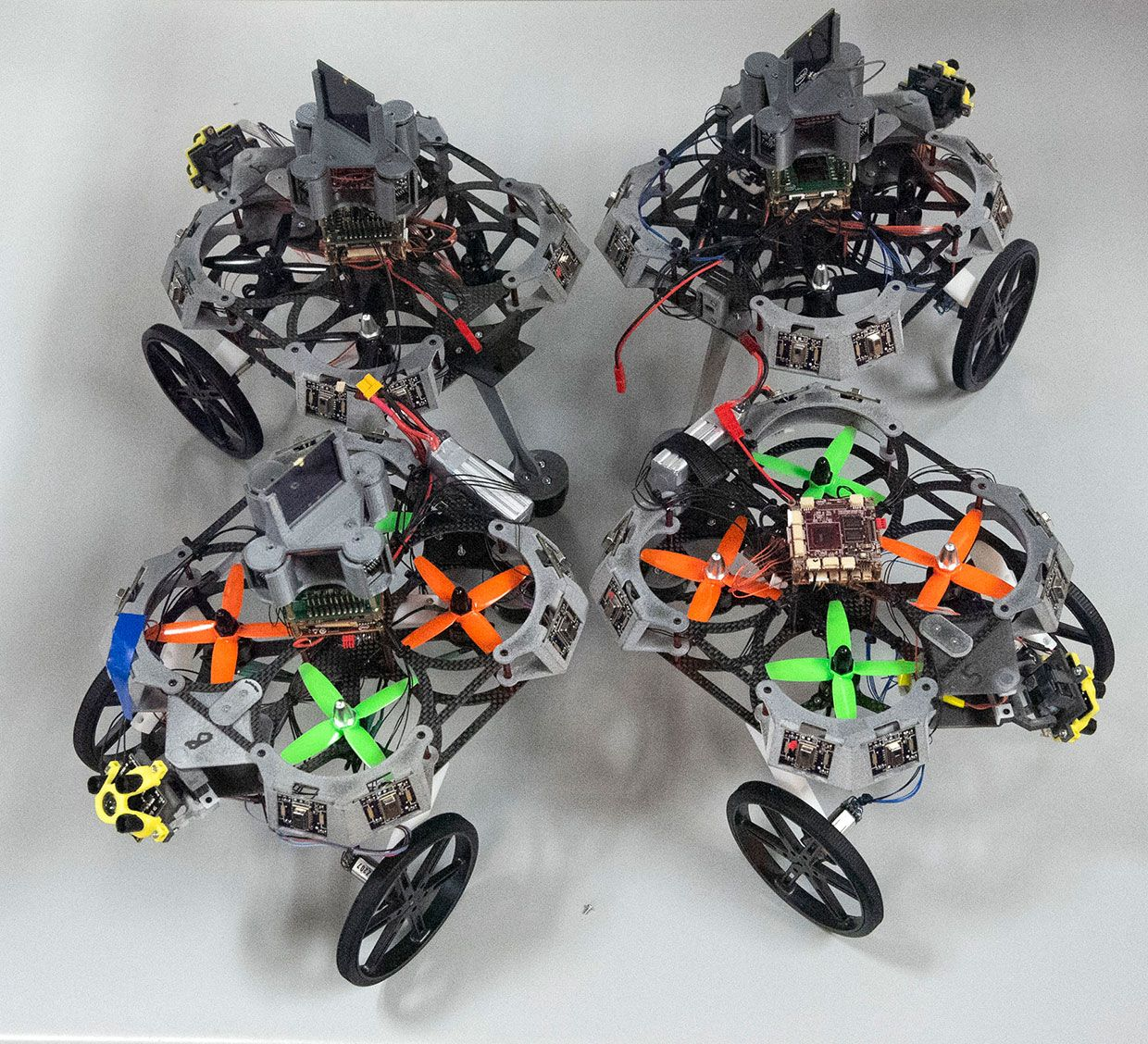 Intel mobile robots with SoC path planning system