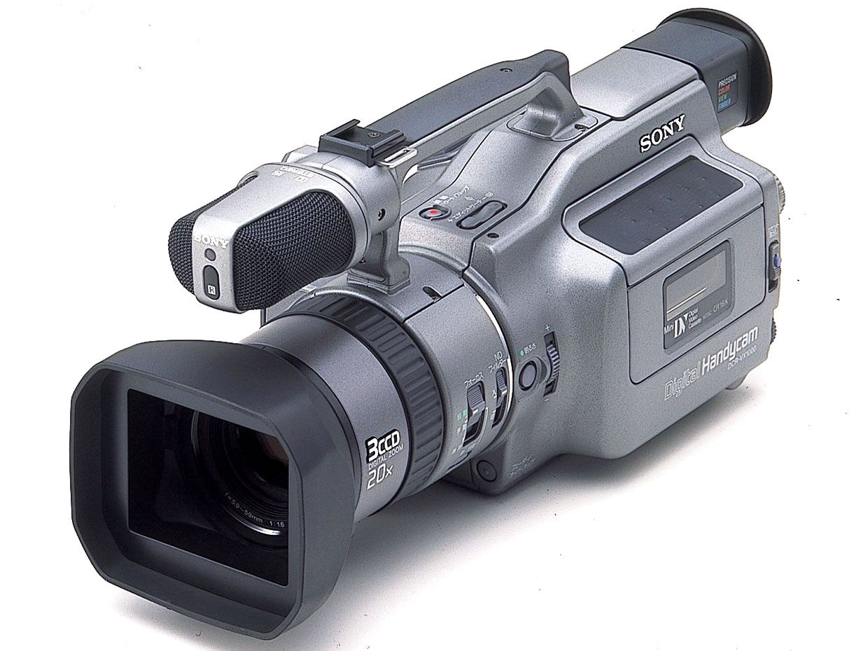 photo of the Sony DCR-VX1000