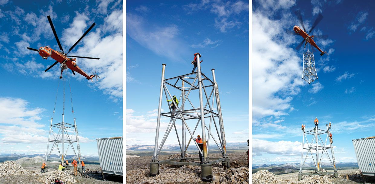 109 Microwave Towers Bring The Internet To Remote Alaska