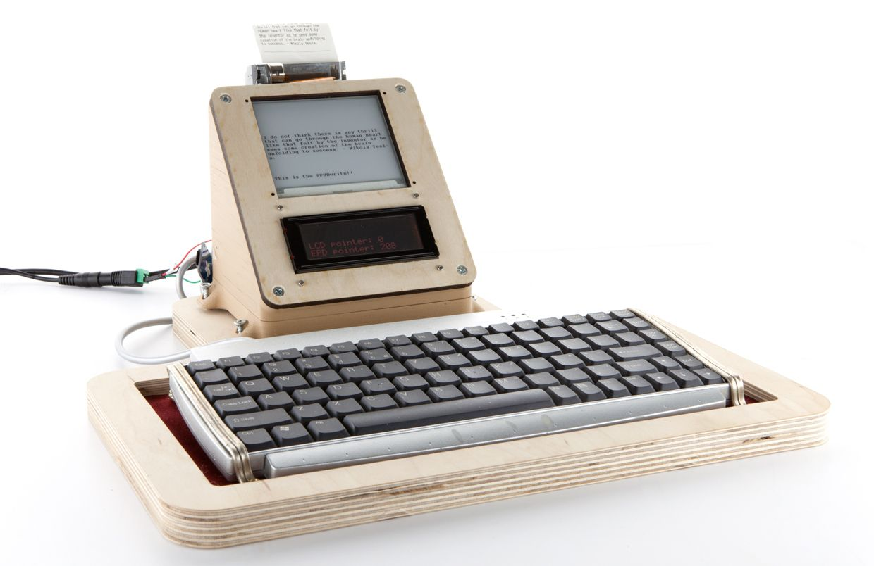 The prototype SPUDwrite.