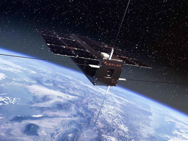 Illustration of a Kepler satellite.