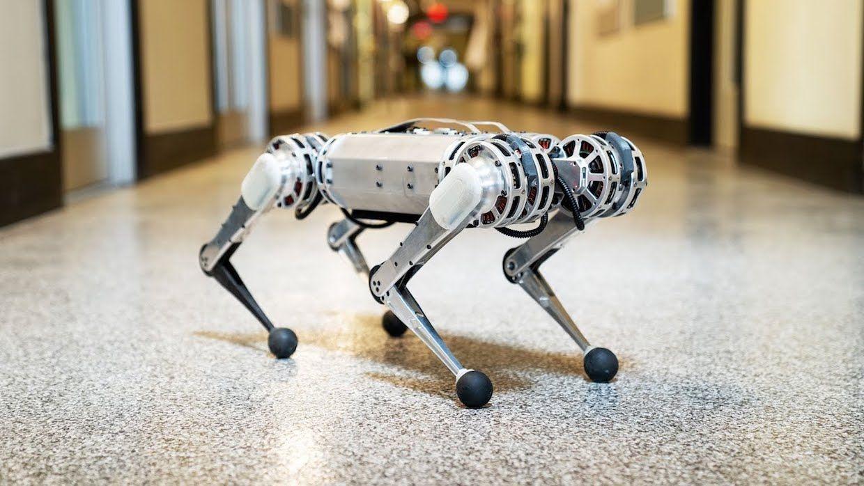 MIT Mini Cheetah quadruped robot