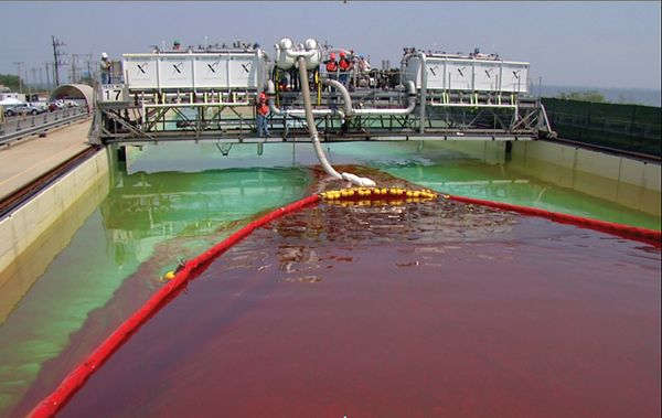 In 2011, such tests were conducted as part of the Wendy Schmidt Oil Cleanup XChallenge.