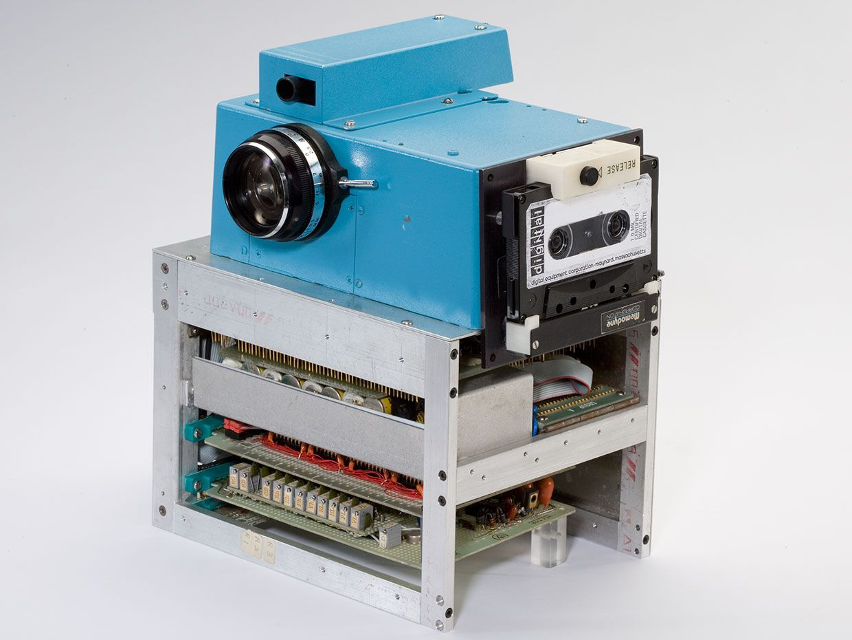 Kodak portable camera prototype.