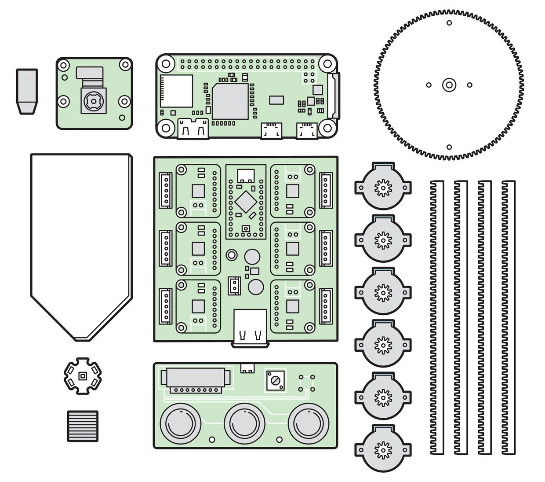 Illustration of the imaging microscope design.