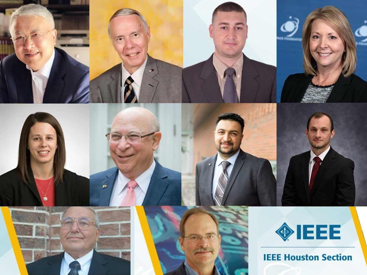 The recipients of the 2020 IEEE Educational Activities Board Awards