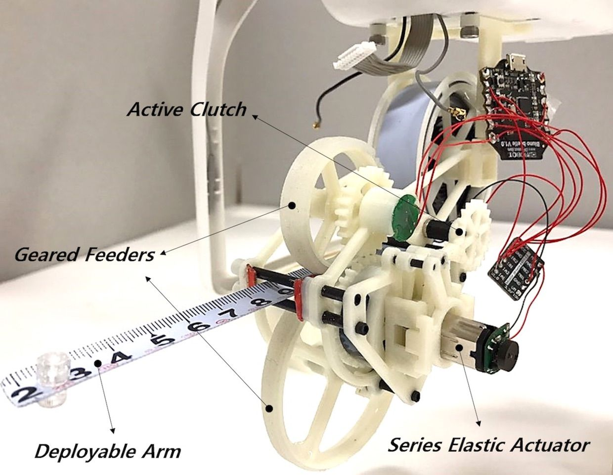 The robotic chameleon tongue mechanism