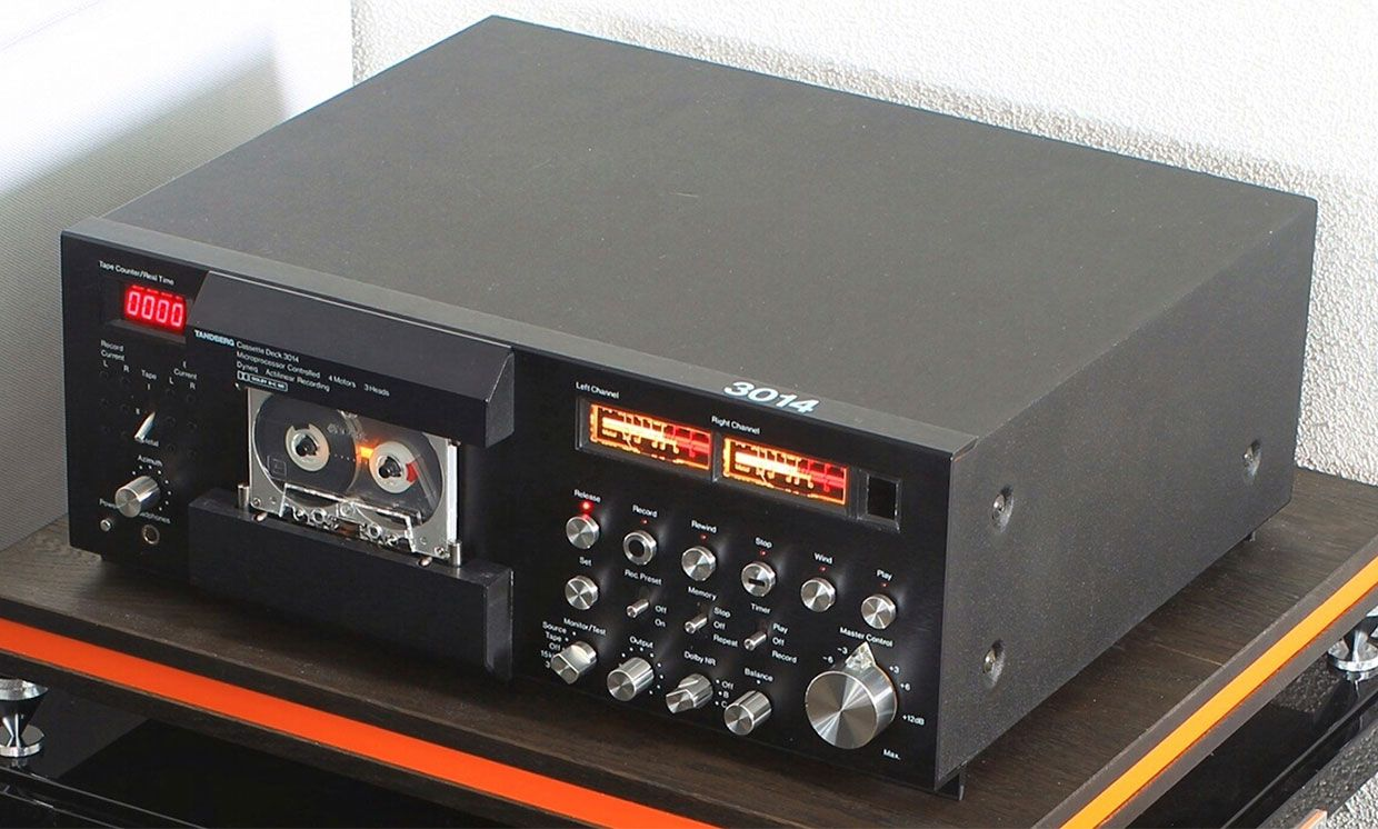 The Consumer Electronics Hall of Fame: Tandberg TCD 3014 Tape Deck