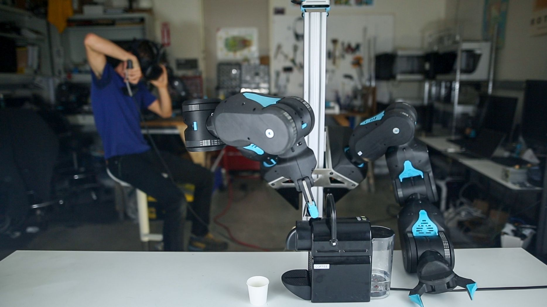 Blue Is a New Low-Cost Force-Controlled Robot Arm from UC Berkeley