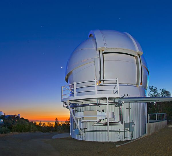 Image of the Automated Planet Finder in California.