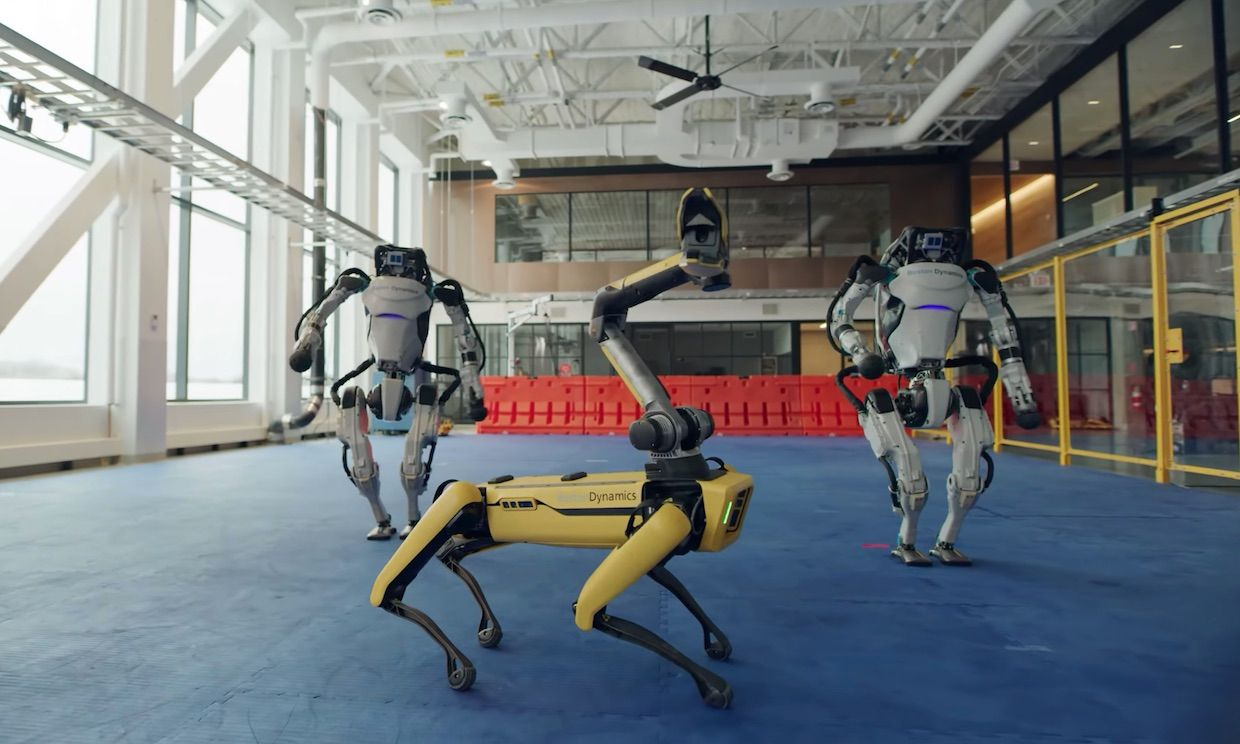 How Boston Dynamics Taught Its Robots to Dance